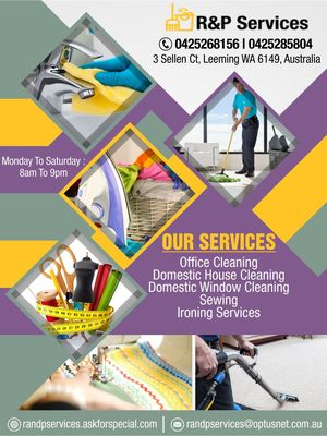 R&P Services | Cleaning contractors Applecross - 10.11.16