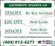 Car Locksmith Atlanta - 09.05.17