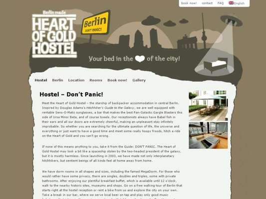 Heart of Gold Hostel - 08.03.13