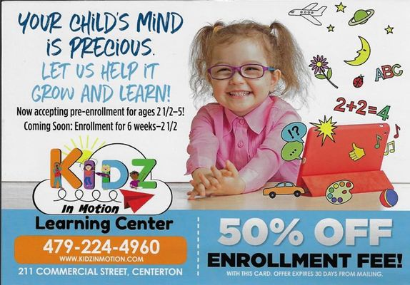 Kidz In Motion Learning Center - 31.10.18