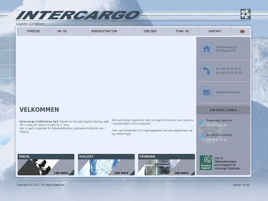 Intercargo Coldstores I/S - 24.11.13