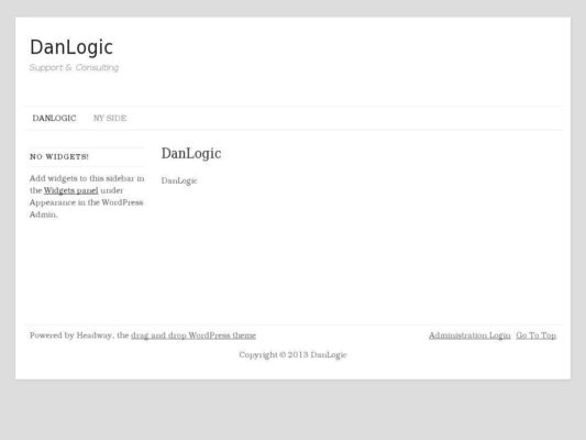 DanLogic Support & Consulting - 24.11.13