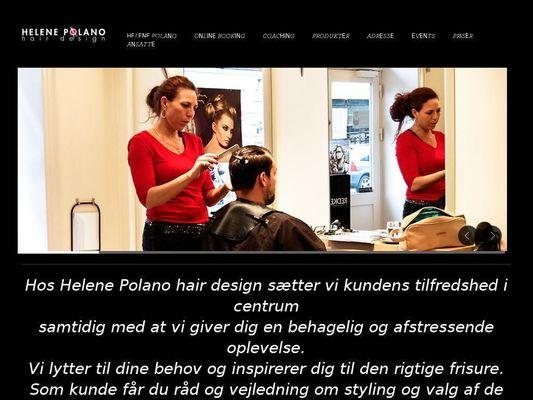 Helene Polano hair design - 23.11.13