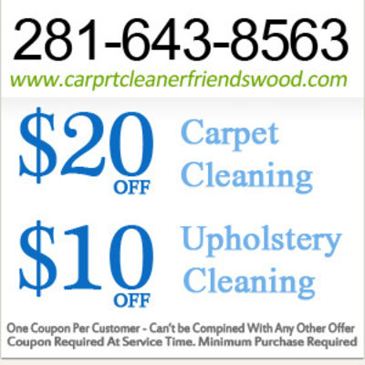 Carprt Cleaner Friendswood - 16.03.19
