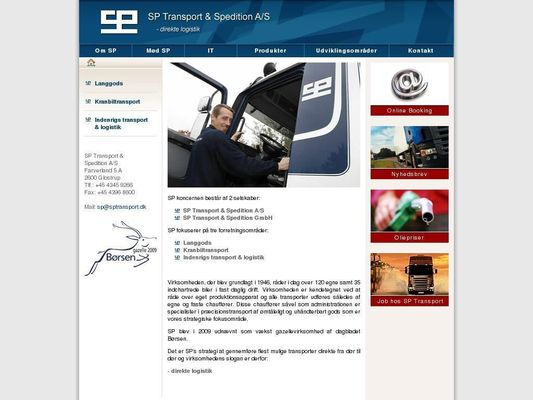 Sp Transport & Spedition A/S - 24.11.13