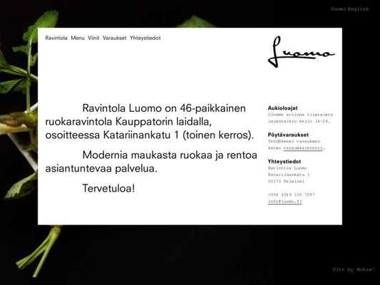 Ravintola Luomo - 07.03.13