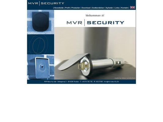 MVR Security ApS - 23.11.13