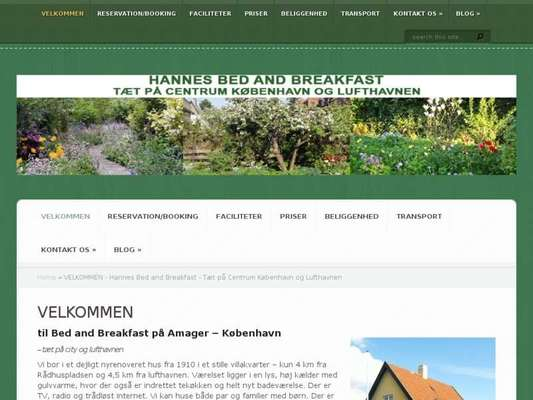 Bed and Breakfast - Hos Hanne Bach - 11.03.13