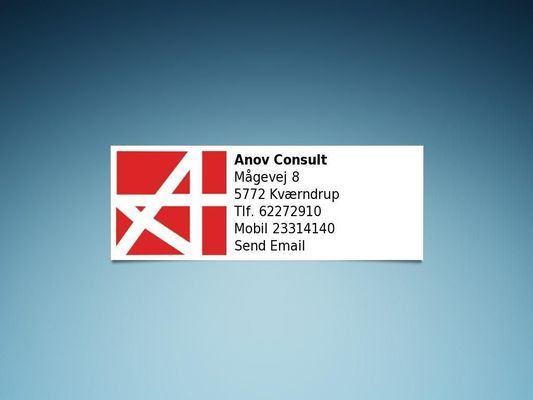 Anov Consult - 23.11.13
