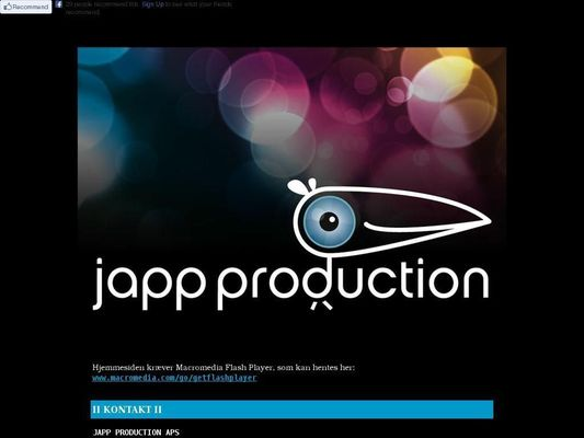 Japp Production ApS - 23.11.13