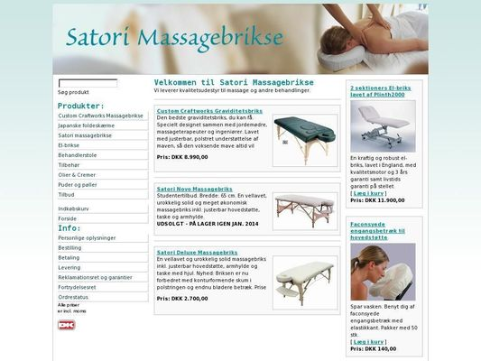 Satori Massagebrikse - 26.11.13