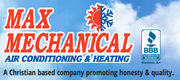 Max Mechanical Air Conditioning & Heating - 19.10.16