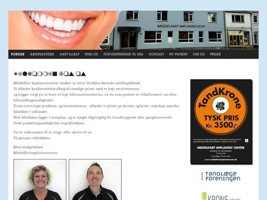 Middelfart Implantatcenter - 21.11.13