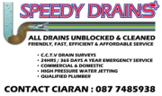 Speedy drains - 19.06.17