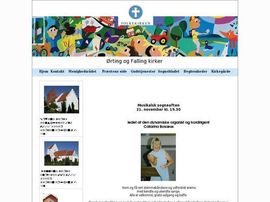 Ørting Kirke (sognepræst) - 21.11.13