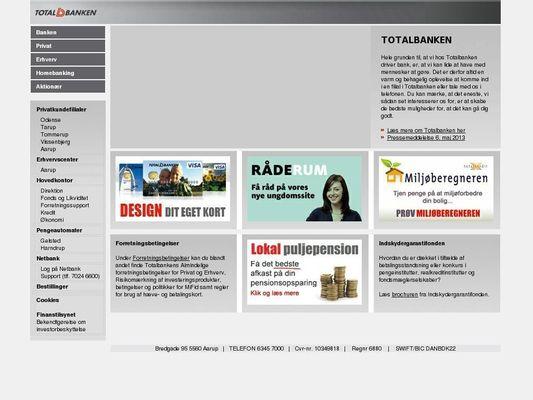 Totalbanken A/S - 21.11.13