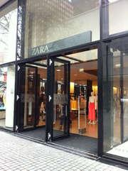 Zara Fashion Store Lijnbaan Rotterdam Netherlands Fashion Store