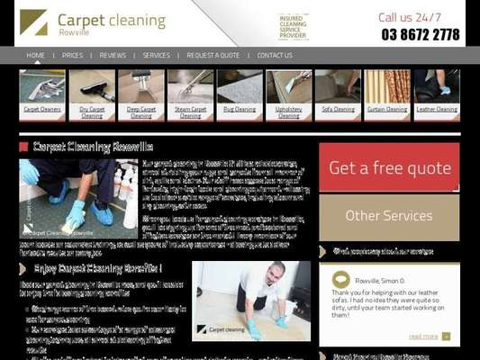 Carpet Cleaning Rowville - 12.03.13