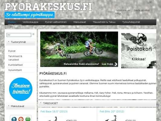 Pyöräkeskus.fi - 08.03.13