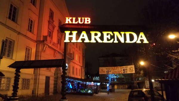 klub Harenda - 10.01.12
