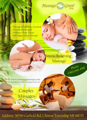 massage green spa licensed massage therapists clinton township fe